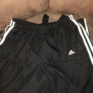Adidas 3 Stripe dri-fit sweatpants